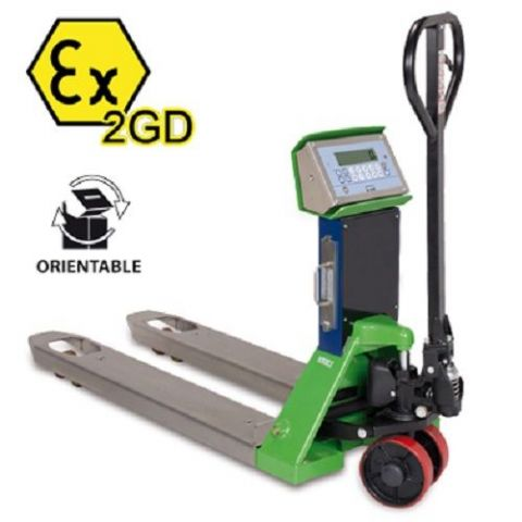 Dini Argeo | TPWEX2GD Trade Approved Pallet Truck Scale | Oneweigh.co.uk